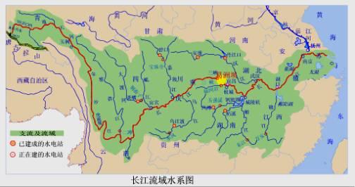 中国地图河流矢量